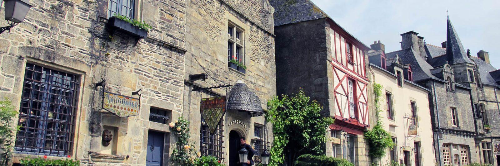 Rochefort en terre village préféré des français en 2016 - Cité médiévale - visite incontournable