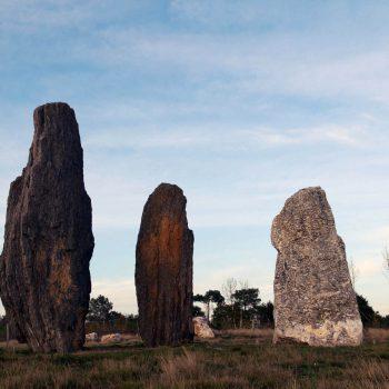 Alignements de menhirs - dolmens - tertres - Les landes de Cojoux - Saint-Just - pays de Redon - Maison Nature et Mégalithes