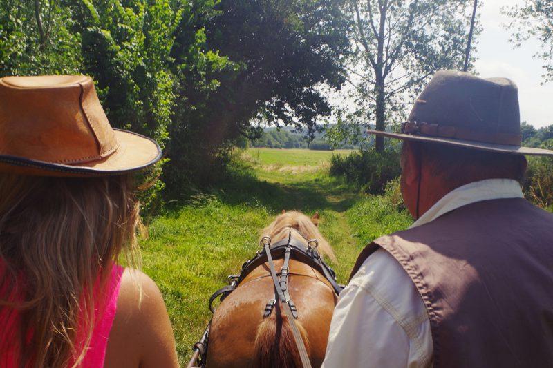 le temps de vivre à Guémené-Penfao promenade à cheval Loire Atlantique 44 Pays de Redon découverte du patrimoine sortie groupe au grand air