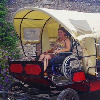 Calèche Loisirs accessibilité à tous 44 Guémené-Penfao - Redon - Bretagne Sud Loire Océan