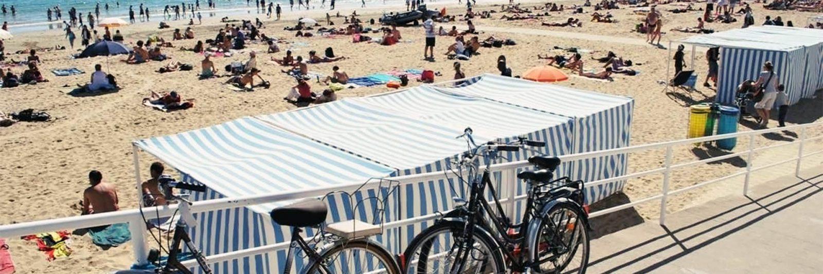 Baignade Plage de la Baule Loire Atlantique