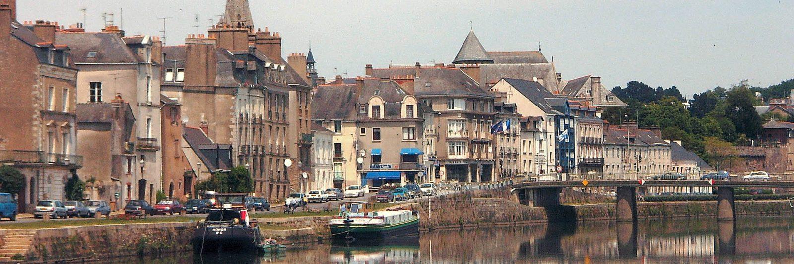Port de Redon - carrefour fluvial - canal de Nantes à Brest