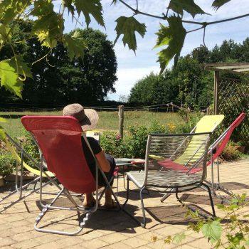 Vacances au vert Bretagne Sud Loire Océan Guémené-Penfao 44 lecture détente